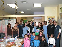 The NYU Dental Clinic team, one of most beloved partners, have been visiting our Head start program for the past 8 years.