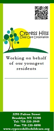 Cypress Hills Child Care Center brochure